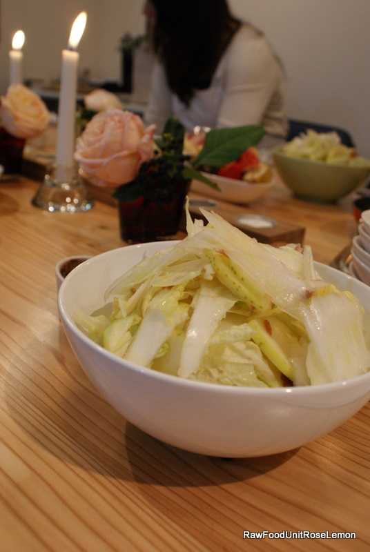 ローフード サラダ